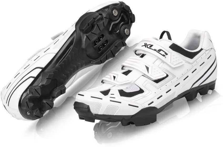 Skor XLC CB-M06 vit | Shoes and overlays