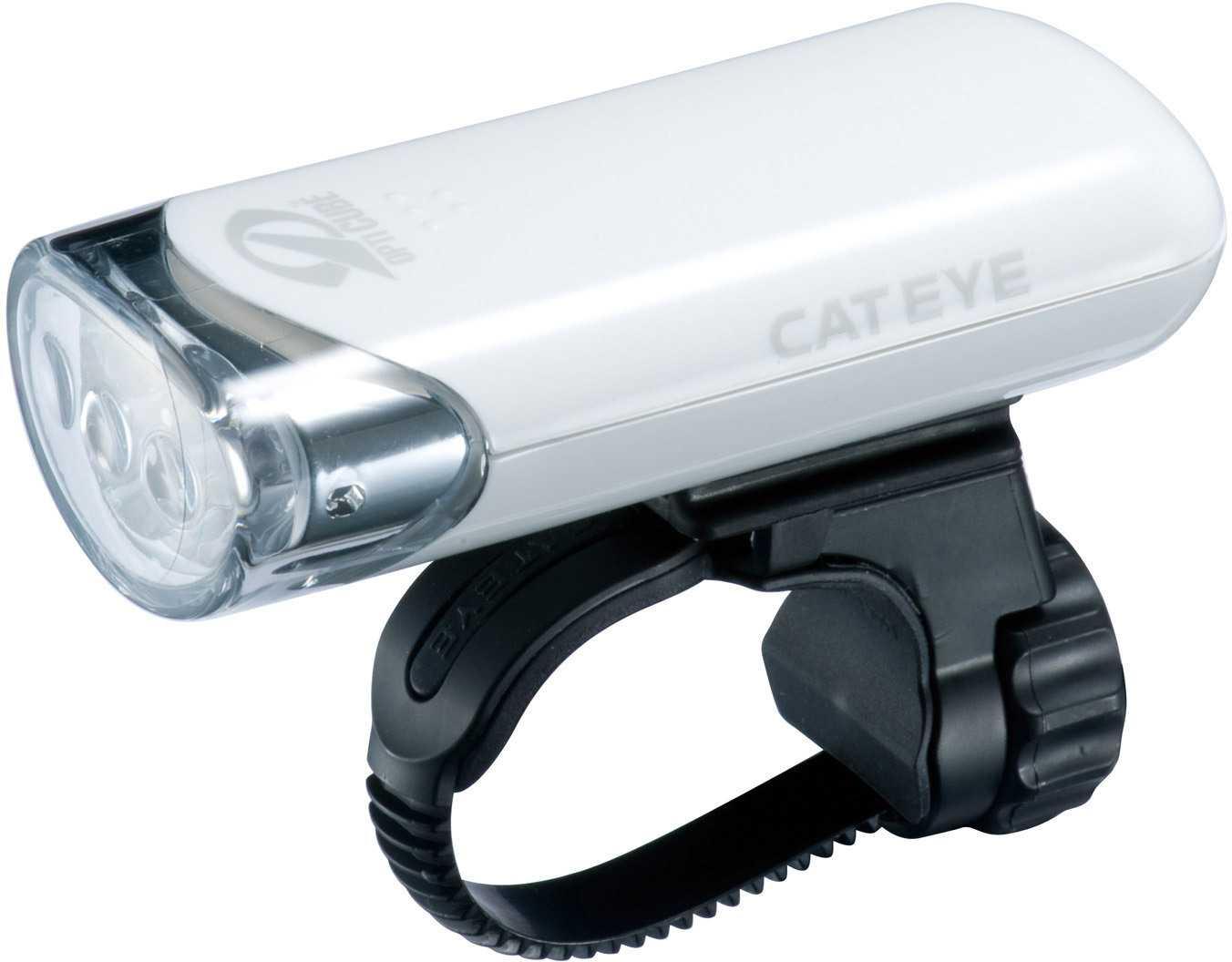 Framlampa Cateye HL-EL135 vit