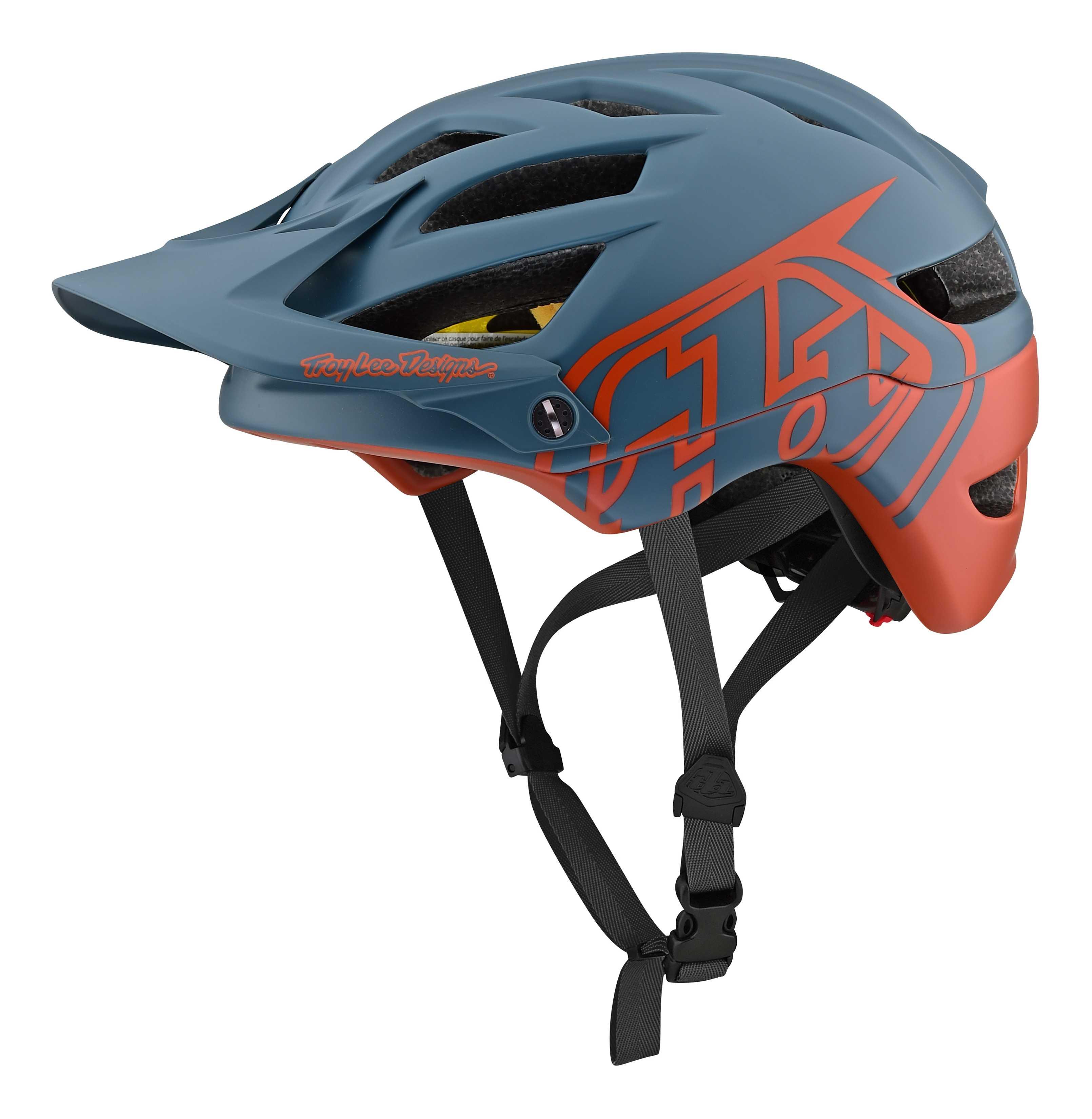 Hjelm Troy Lee Designs A1 Classic MIPS mørkblå/rød | Helmets