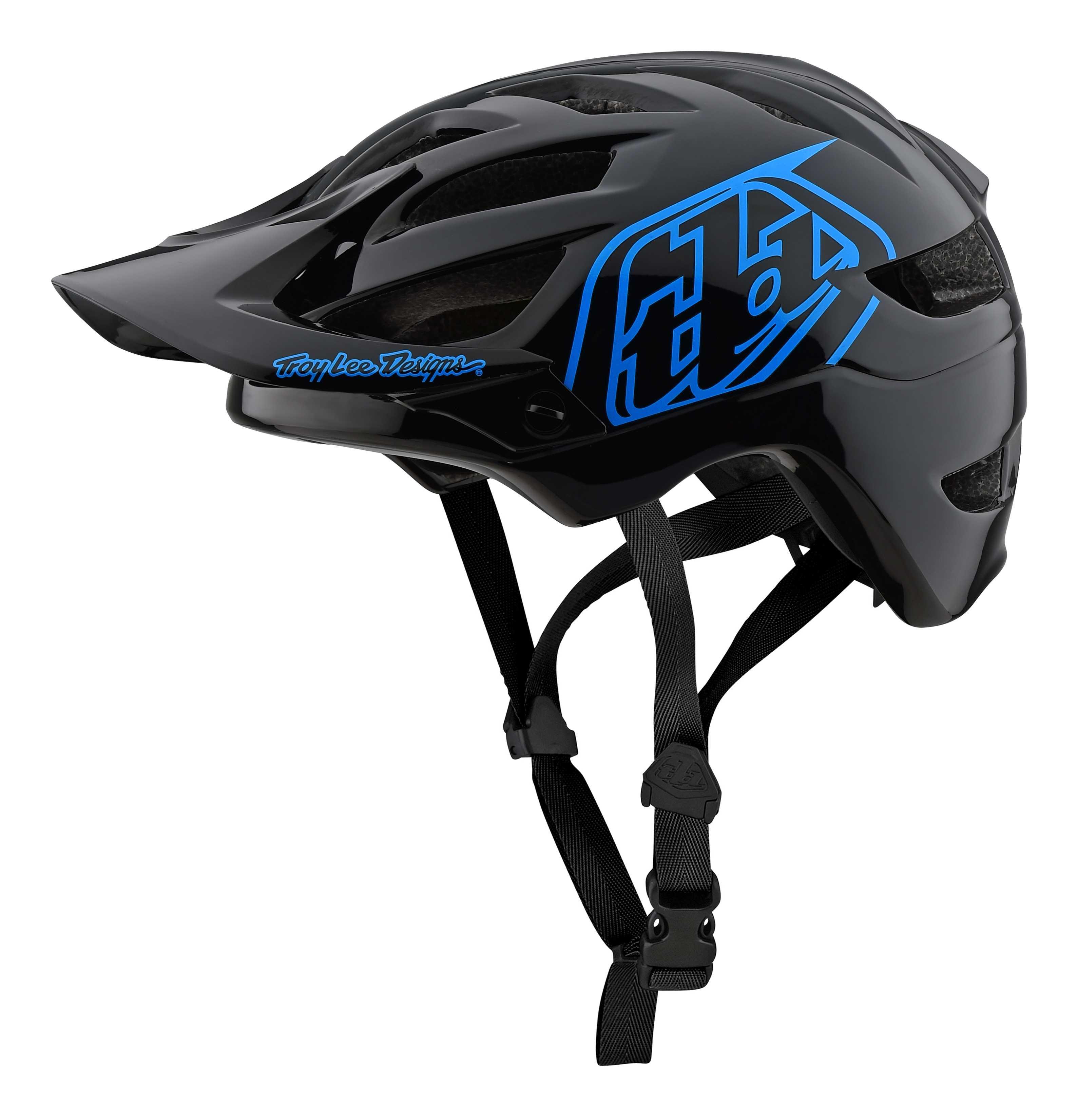 Hjelm Troy Lee Designs A1 Drone Youth sort/blå | Helmets
