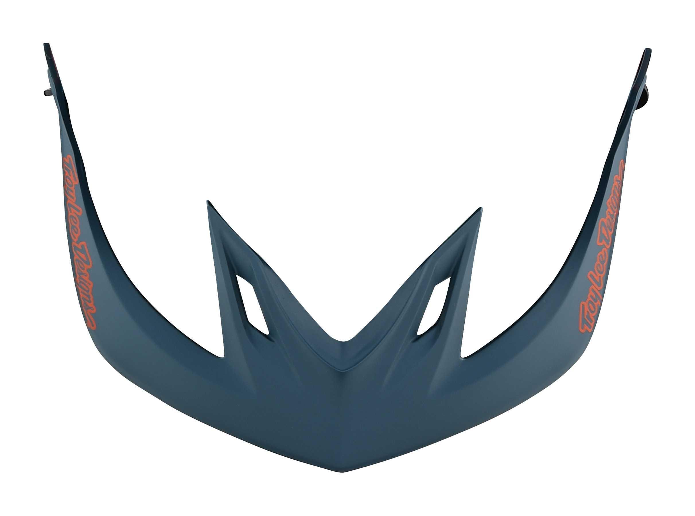 Skærm Troy Lee Designs A2 Decoy blå/rød | helmets_other_clothes