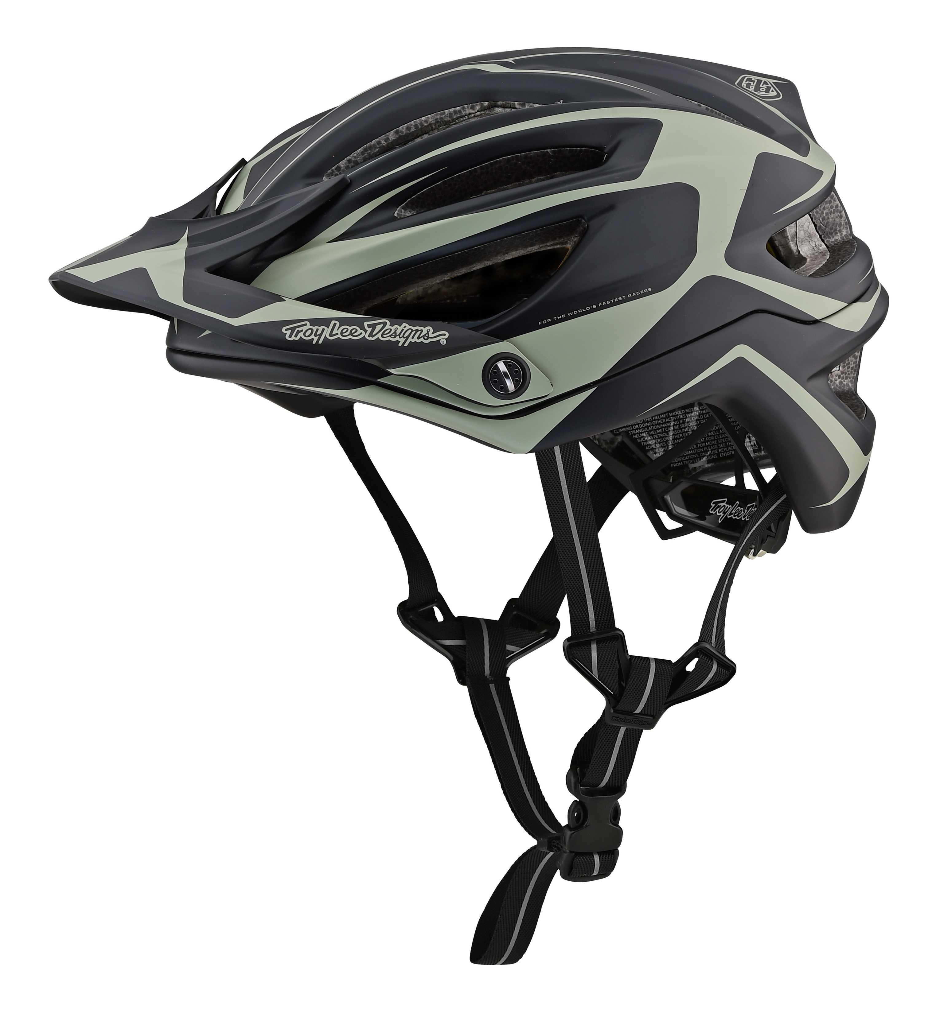 Hjelm Troy Lee Designs A2 Dropout MIPS sort/grå | Helmets