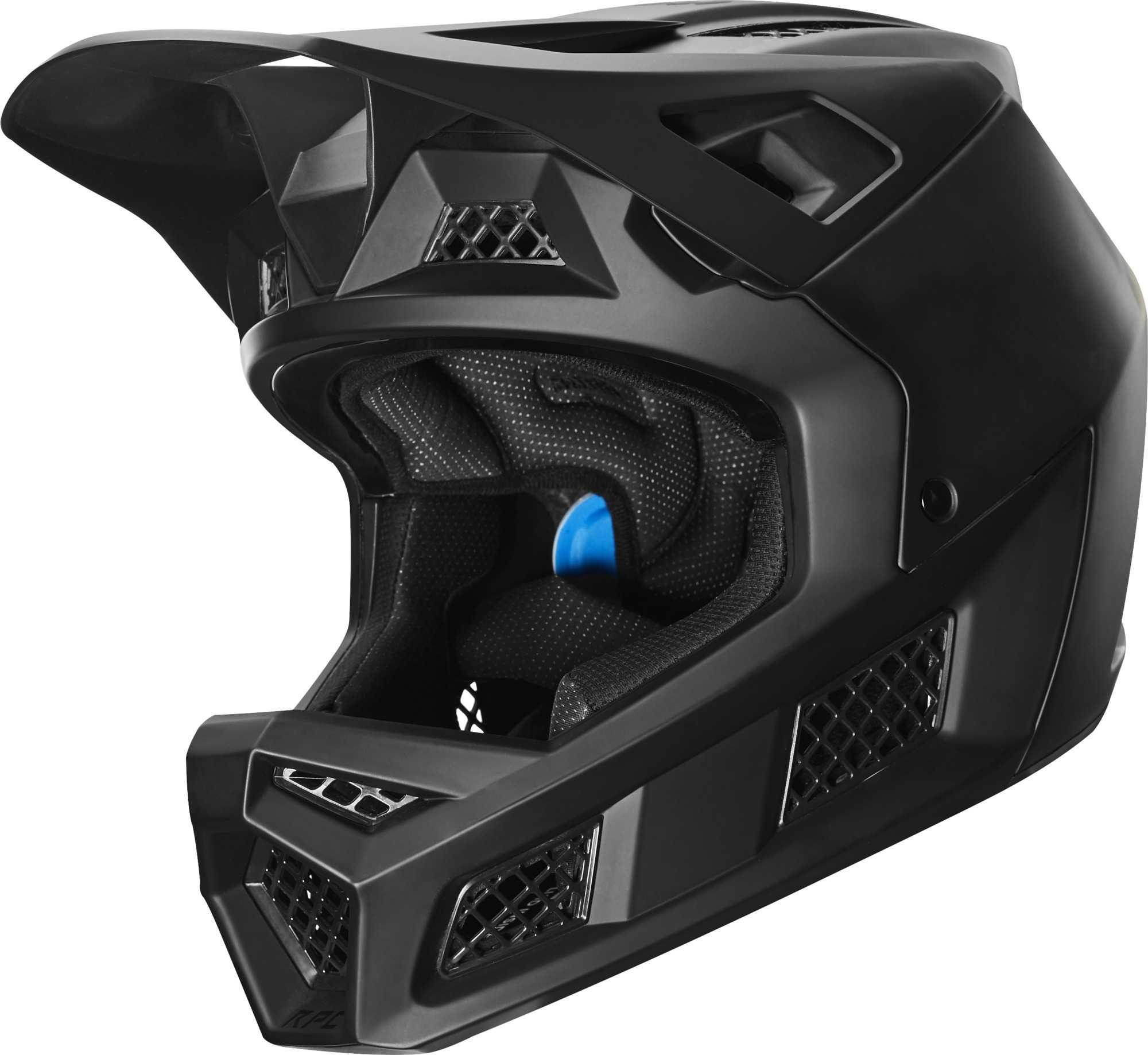 Hjelm Fox Rampage Pro Carbon Fluid Inside mat sort   Helmets