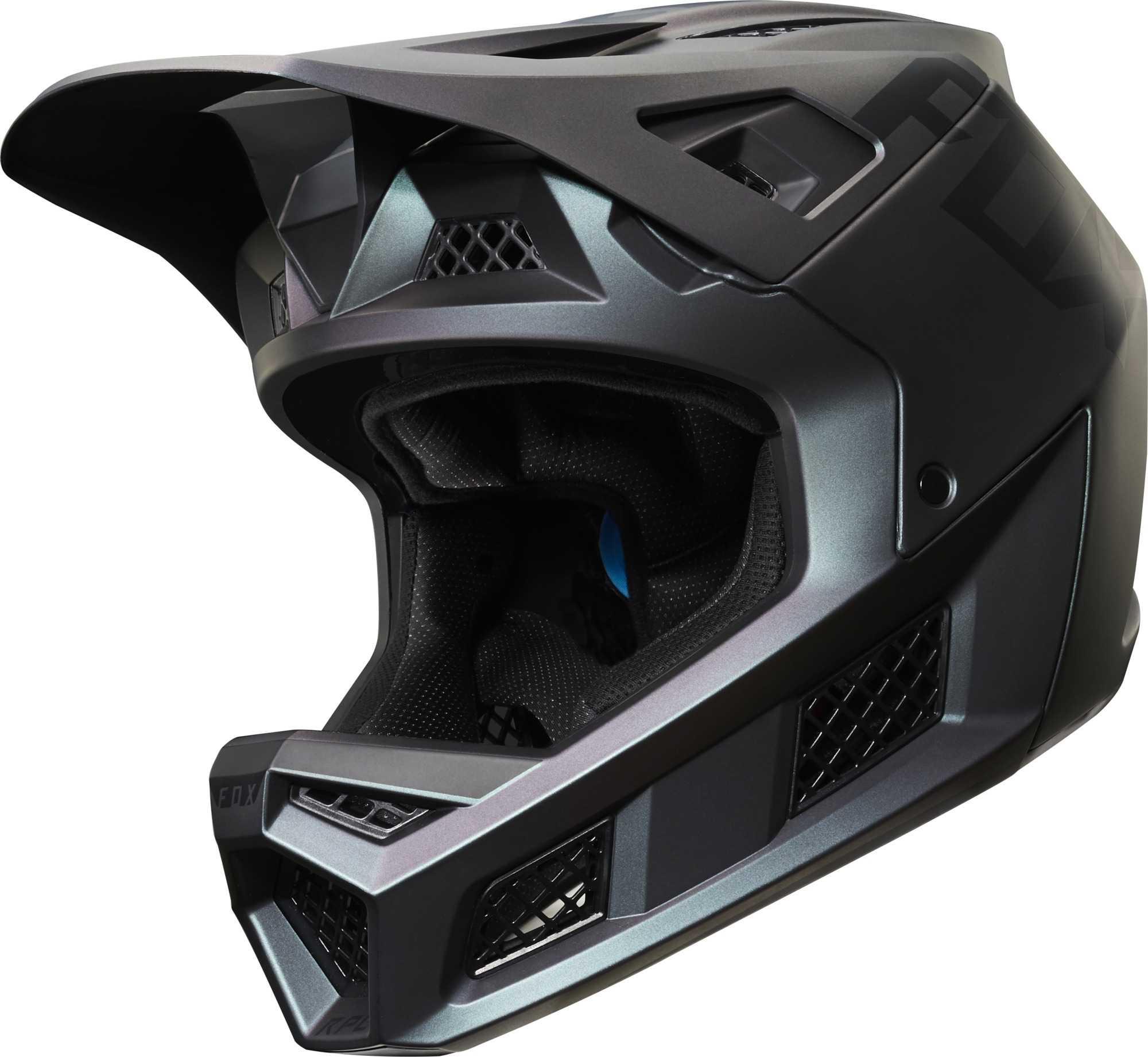 Hjelm Fox Rampage Pro Carbon Weld Fluid Inside sort   Helmets