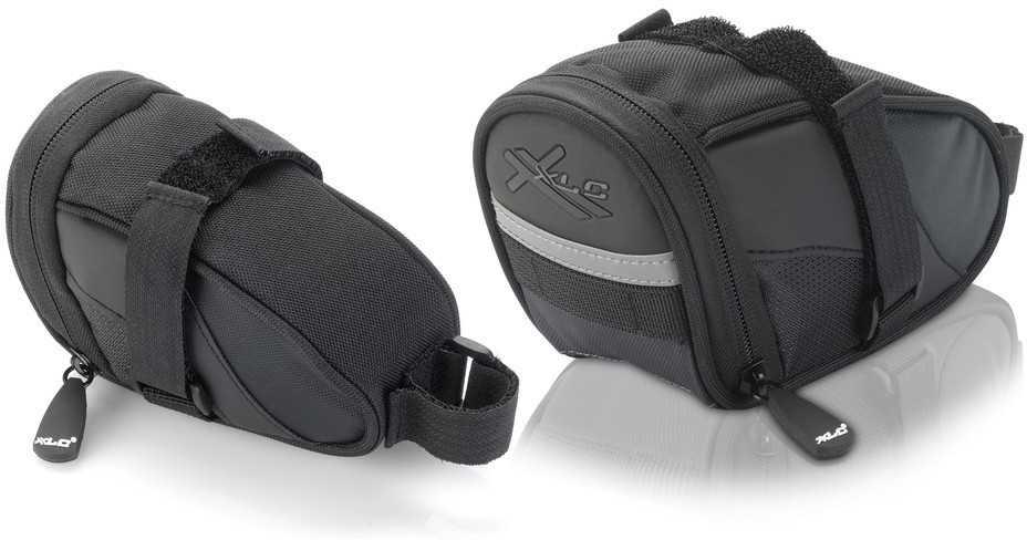 Sadelväska XLC BA-S59 0.6 l svart/grå | Saddle bags