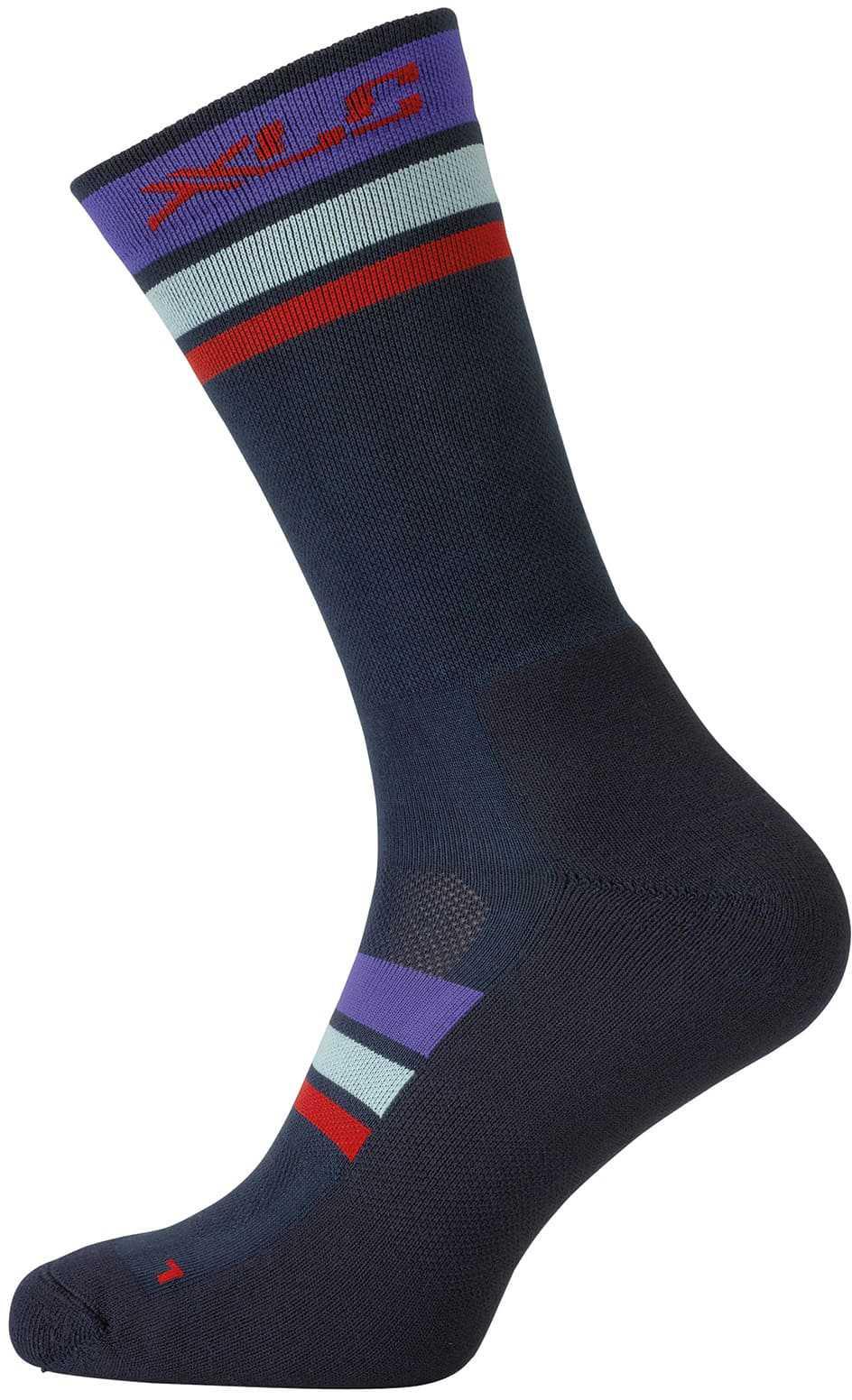 Strumpor XLC CS-L02 blå/lila/röd | Socks