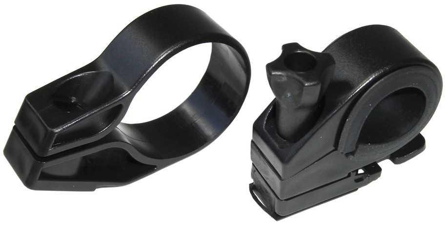 Framlampsfäste XLC CL-X12 svart | Reflectives