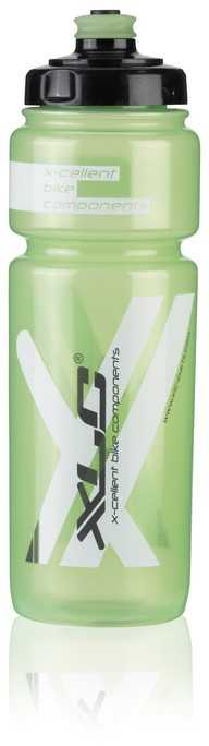 Flaska XLC WB-K03 750 ml grön/transparent | Bottles