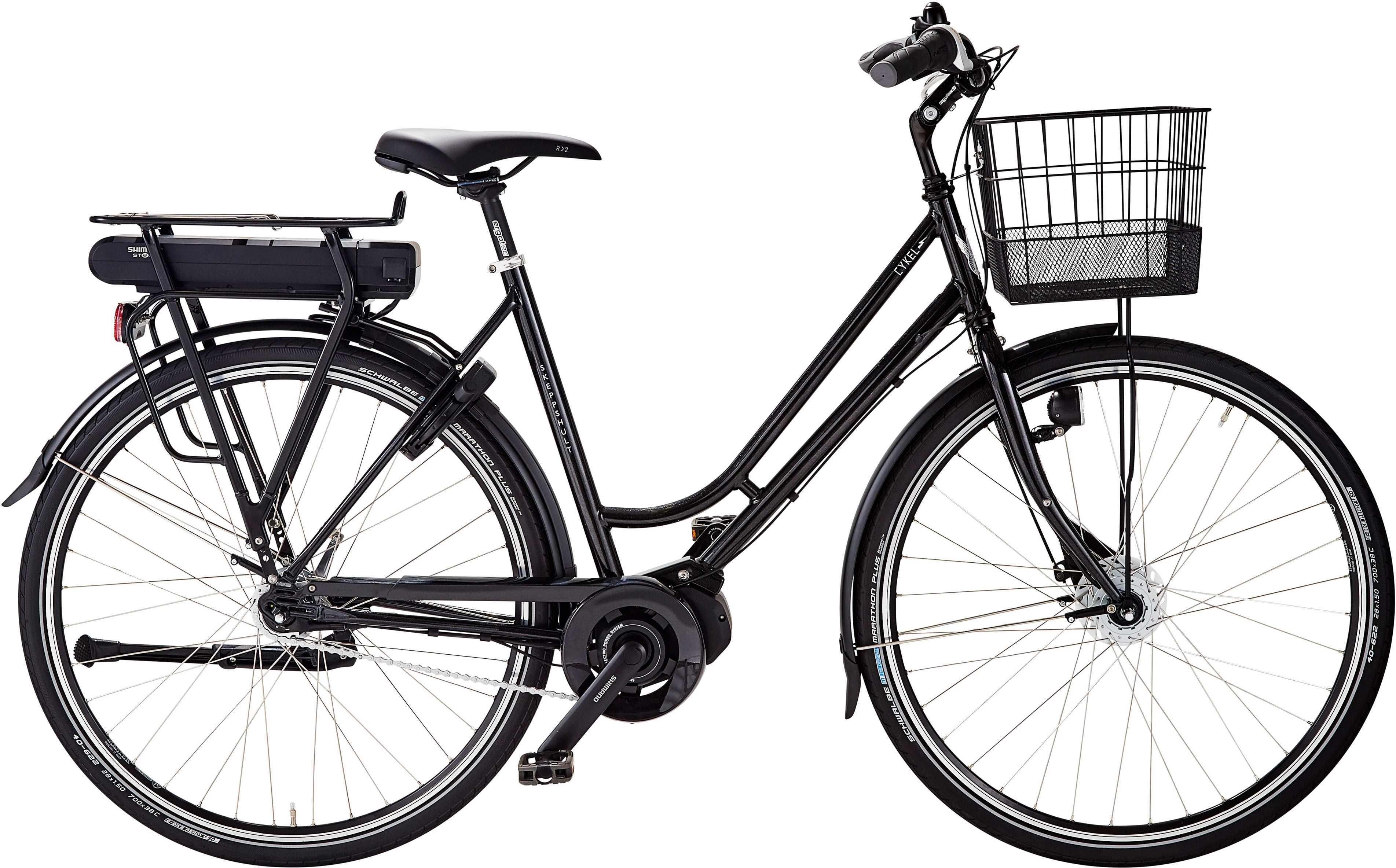 Skeppshult dam cykEL 7-växlad spegelsvart 53 cm
