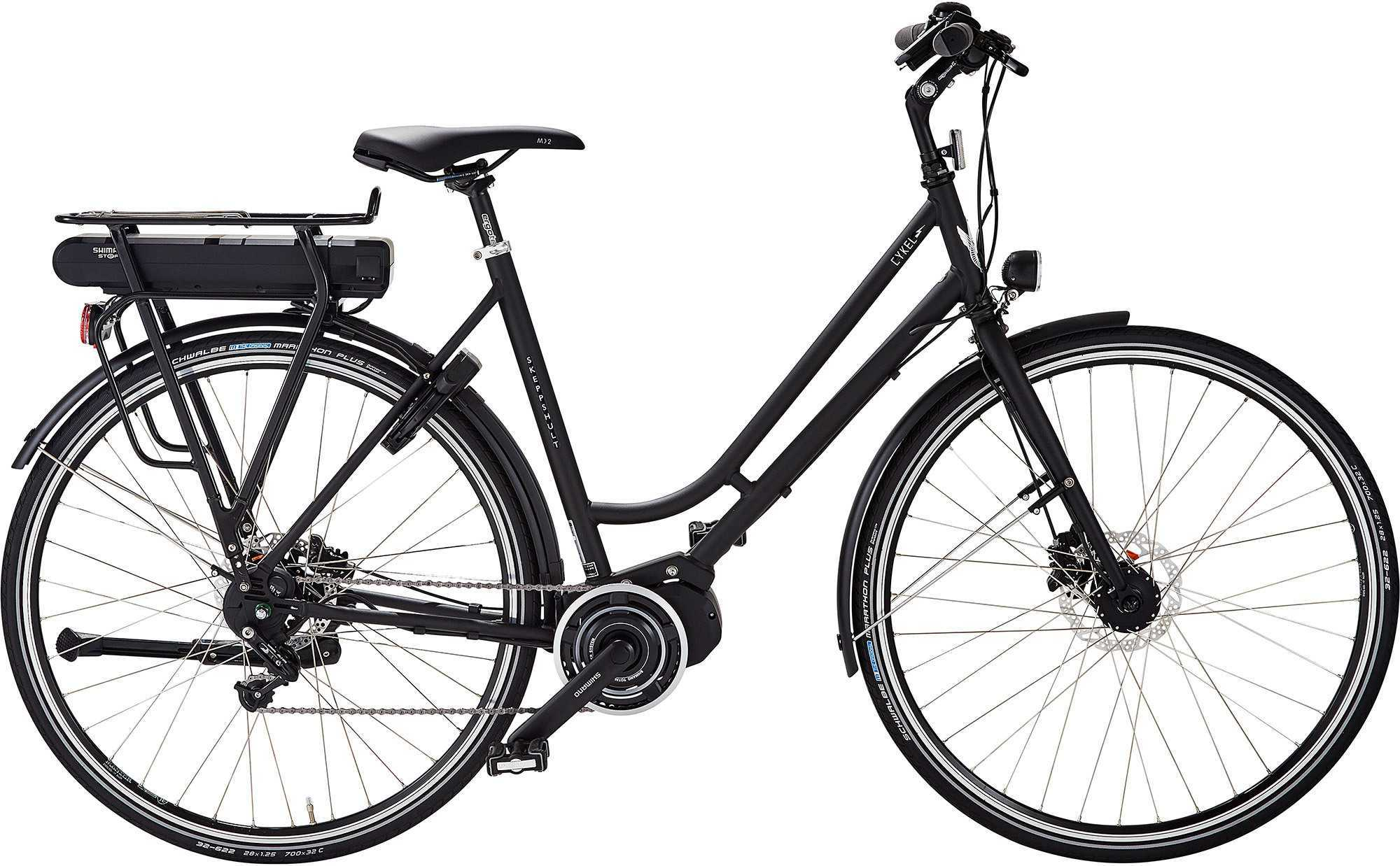 Skeppshult dam cykEL 8-växlad Di2 Schack matt 53 cm