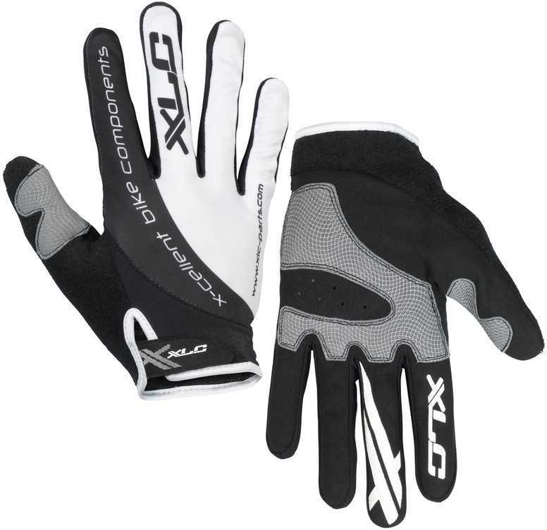 Handskar XLC CG-L04 vit/svart | Gloves