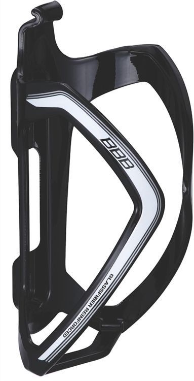 FLASKEHOLDER BBB FLEXCAGE SORT /HVID | Bottle cages