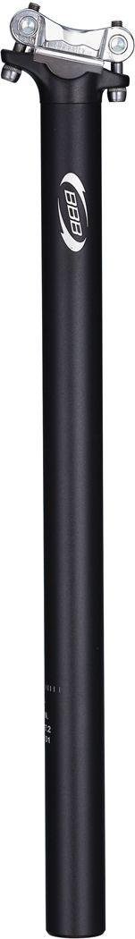 Sadelstolpe BBB Skyscraper 27.0 x 400 mm svart | Seat posts