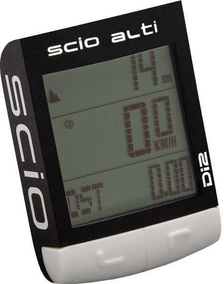 Cykeldator Pro Scio Alti Ant+ svart