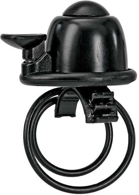 Ringklocka svart