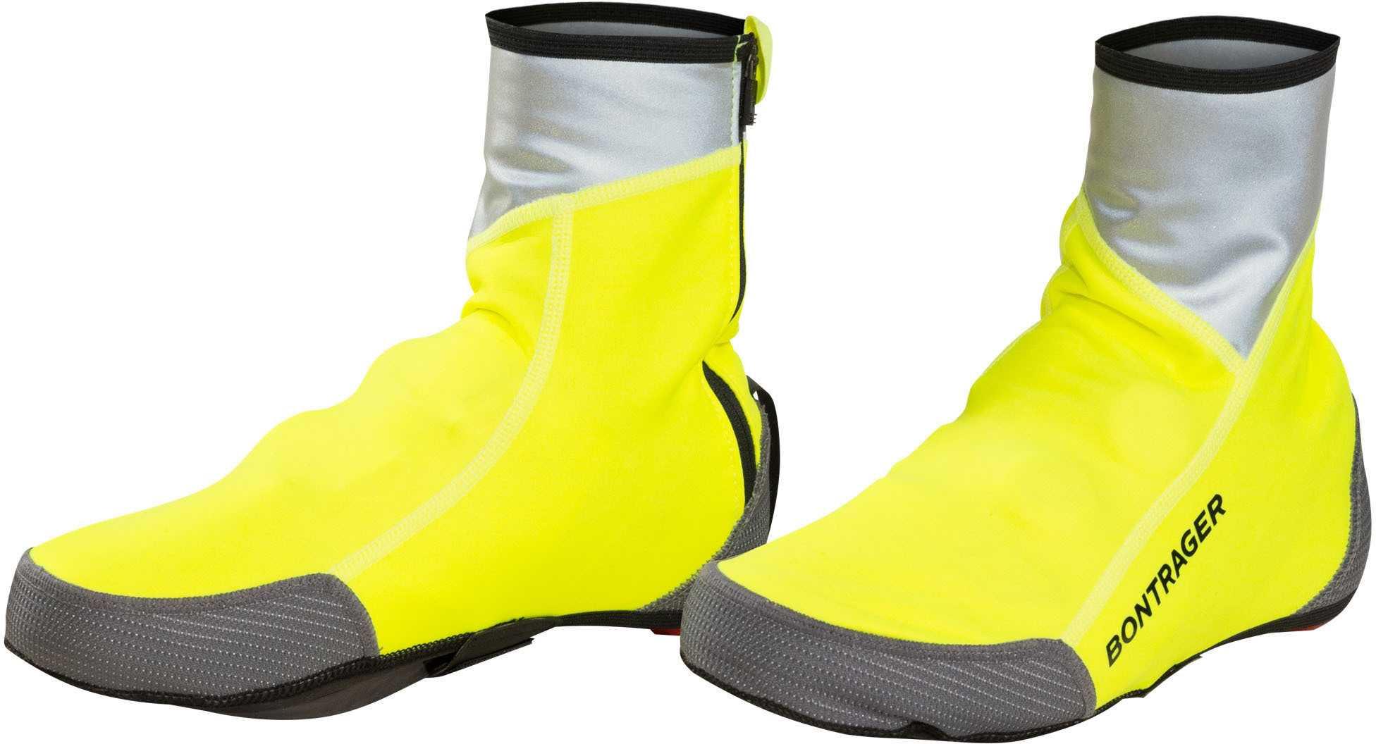 Skoovertræk Bontrager Halo S1 Softshell hi-vis gul | shoecovers_clothes