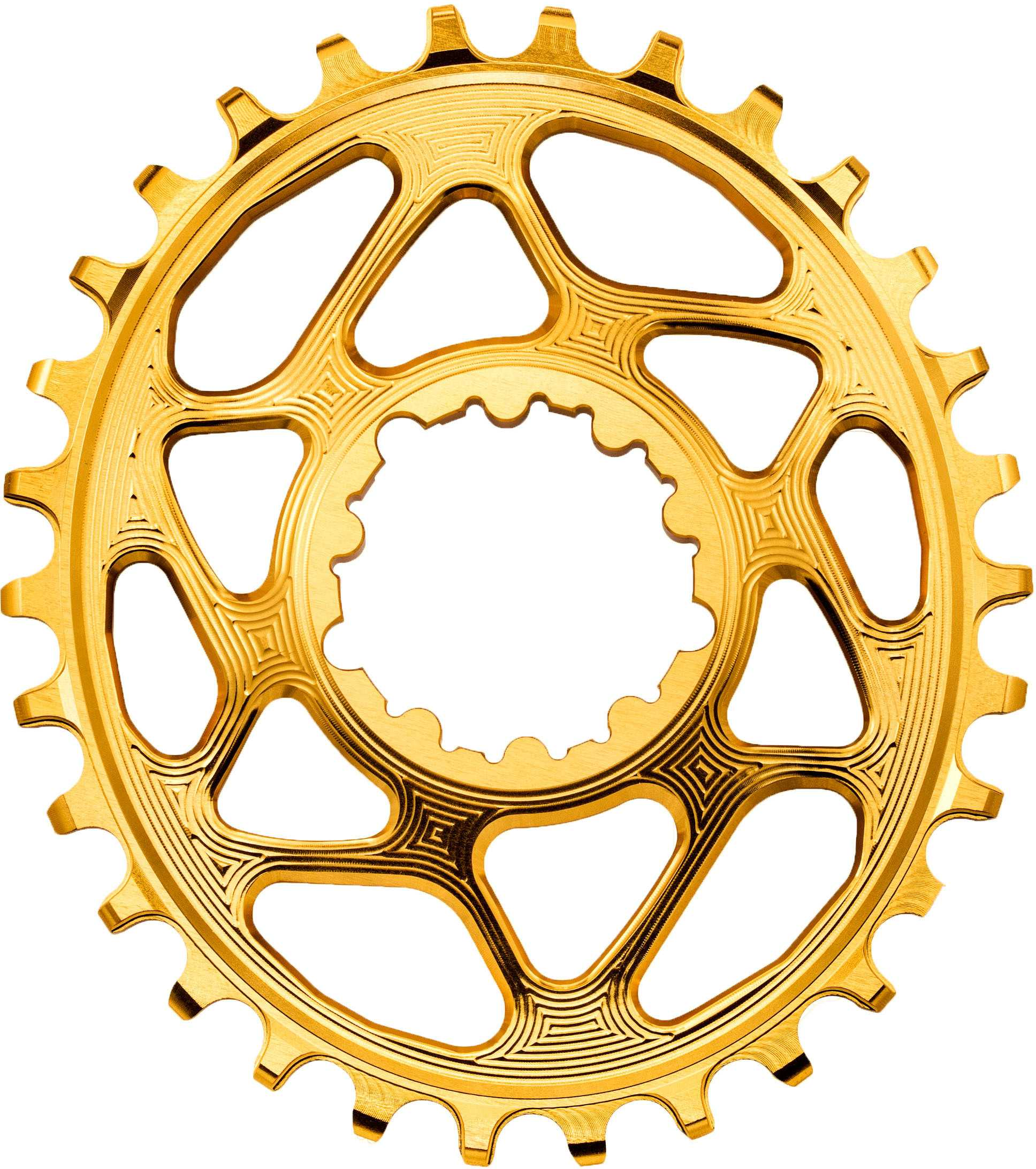 FRONT KLINGE ABSOLUTEBLACK OVAL NARROW-WIDE SRAM GXP DIRECT MOUNT 30T GULD | chainrings_component