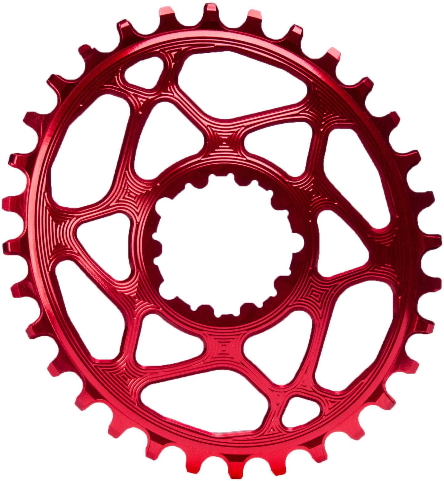 FRONT KLINGE ABSOLUTEBLACK OVAL NARROW-WIDE BOOST 148 RACE FACE CINCH 30T RØD | chainrings_component