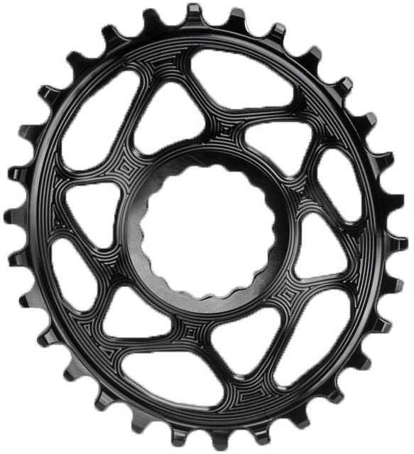 FRONT KLINGE ABSOLUTEBLACK OVAL NARROW-WIDE RACE FACE CINCH 26T SORT | chainrings_component