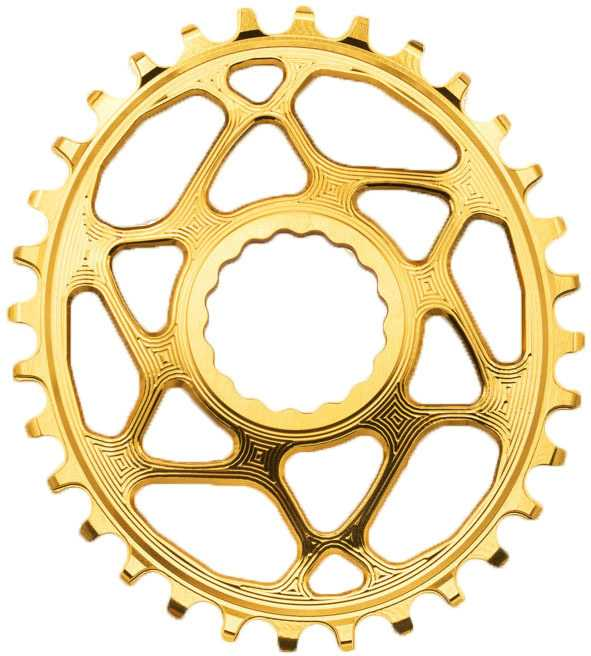 FRONT KLINGE ABSOLUTEBLACK OVAL NARROW-WIDE RACE FACE CINCH 32T GULD | chainrings_component