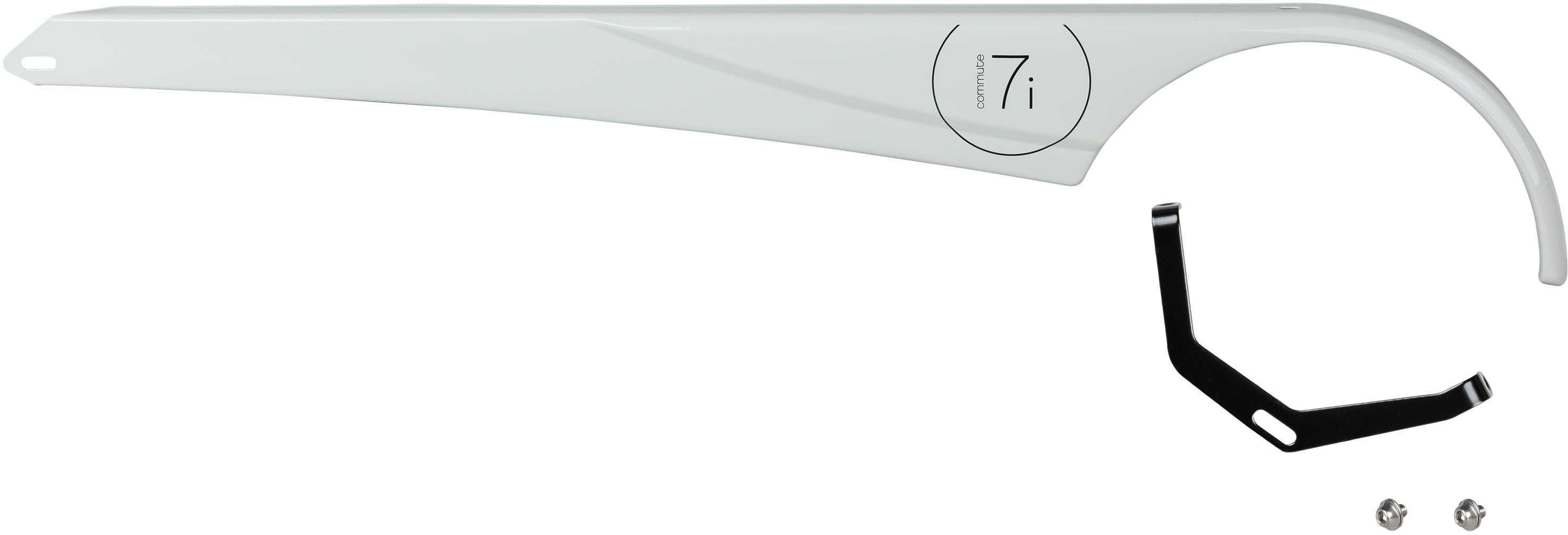 Kedjeskydd Electra Townie Commute 7I EQ grå   Kædeskærme og beslag