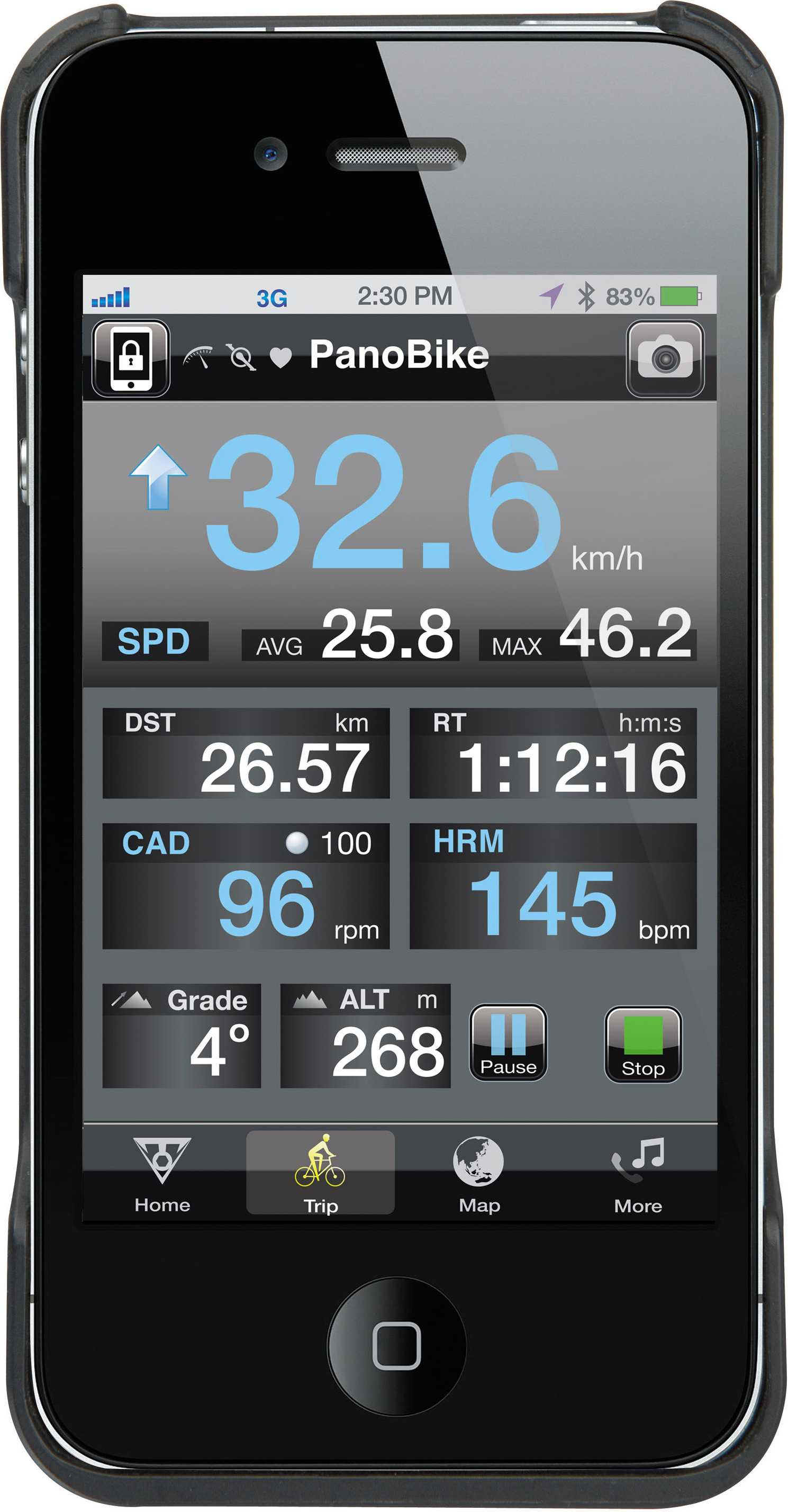 Telefontaske Topeak Ridecase II iPhone 4 sort | phone_mounts_component