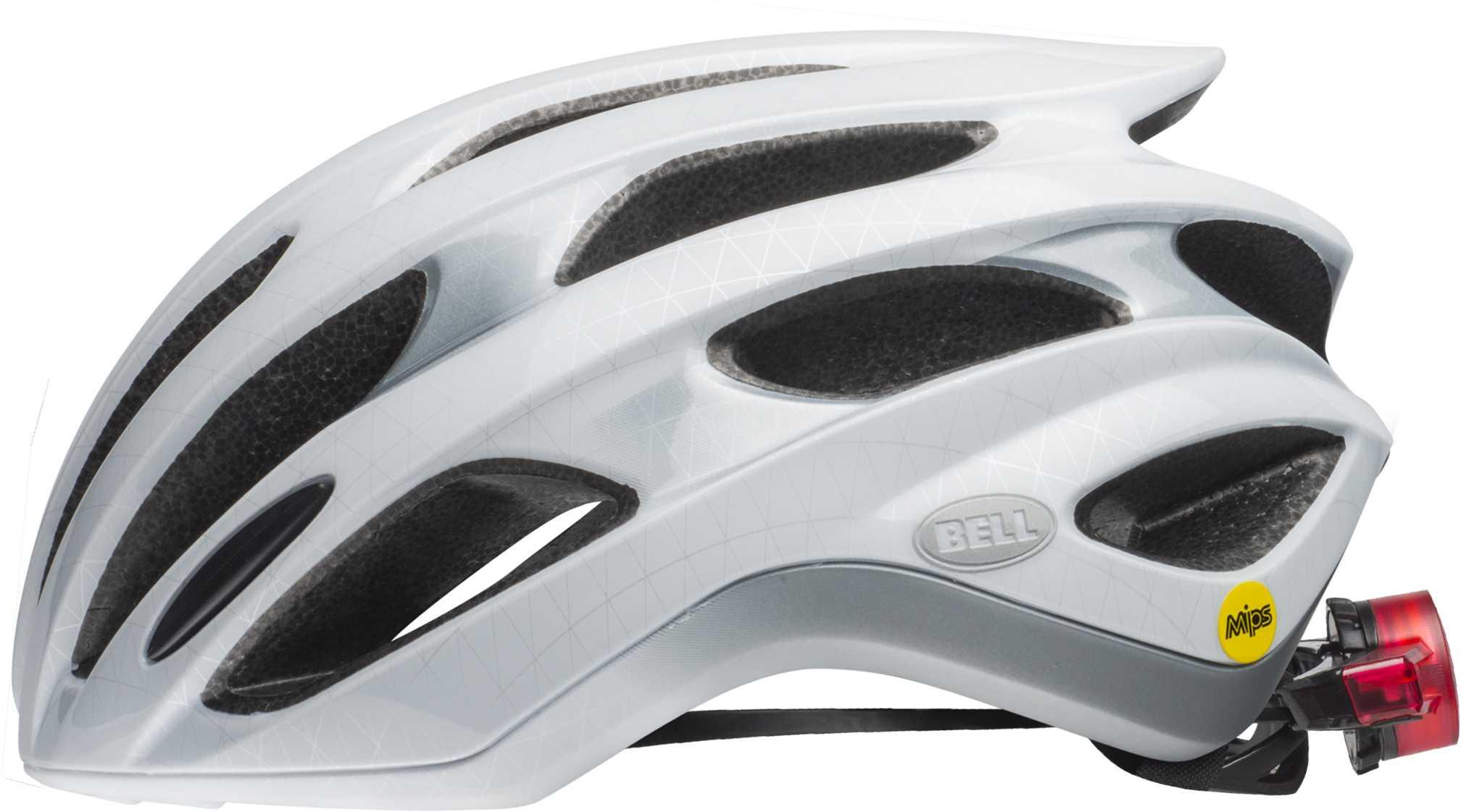Bell Formula LED Mips Helmet - slice white/silver/black | Helmets
