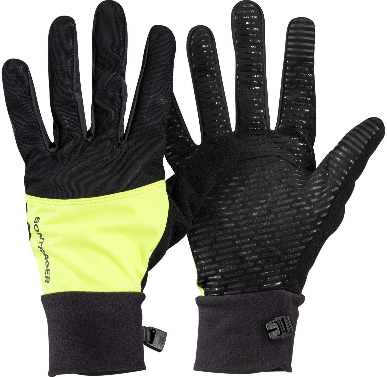 Handskar Bontrager Circuit Windshell dam gul | Gloves