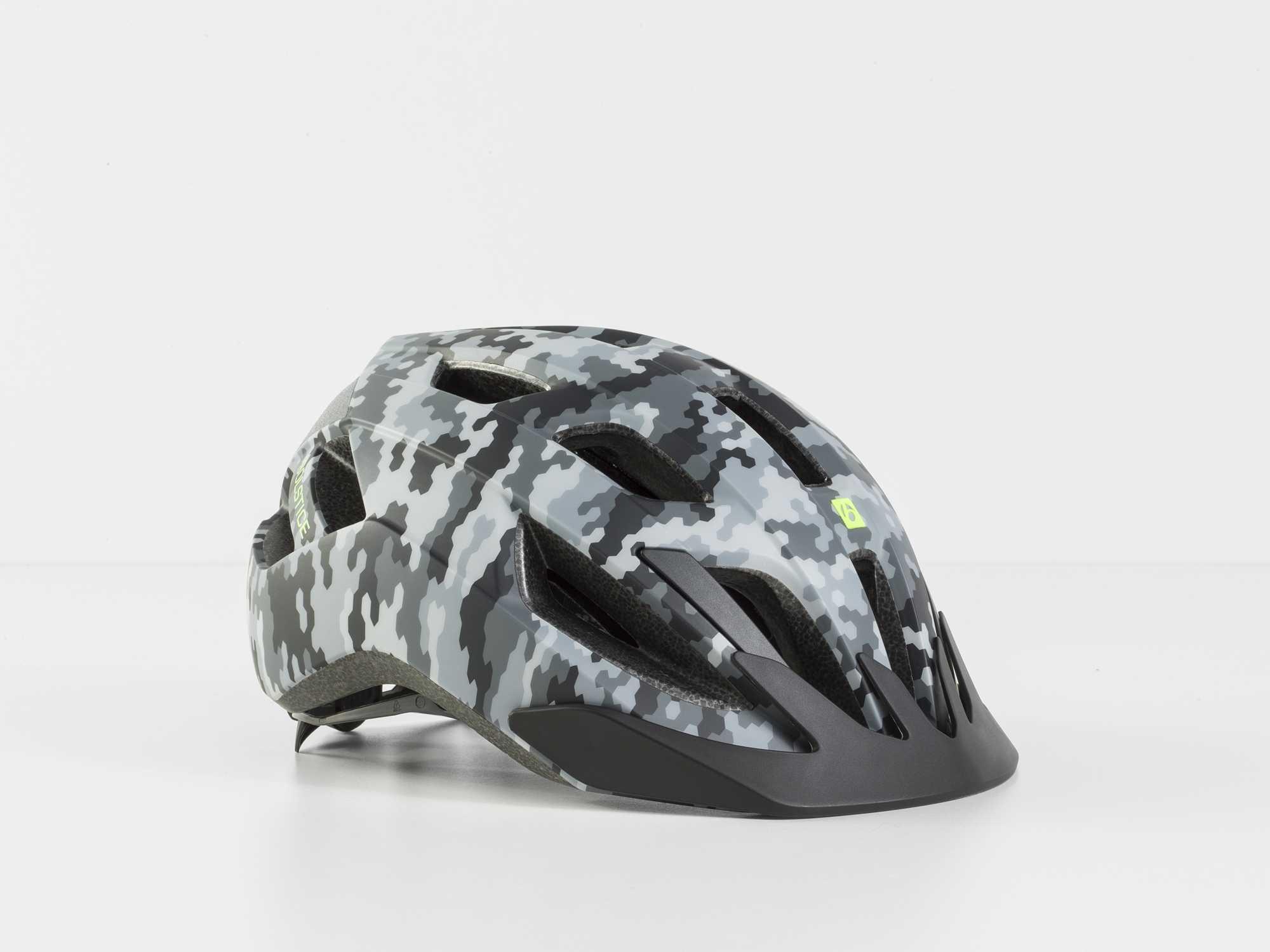 Hjälm Bontrager Solstice MIPS Youth grå camo | Helmets