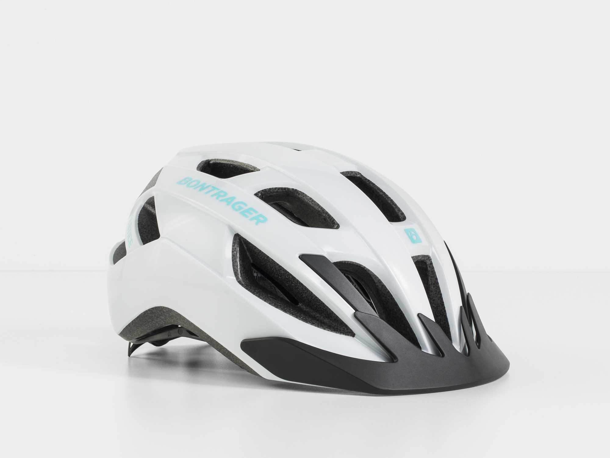 Hjälm Bontrager Solstice vit/grön | Helmets
