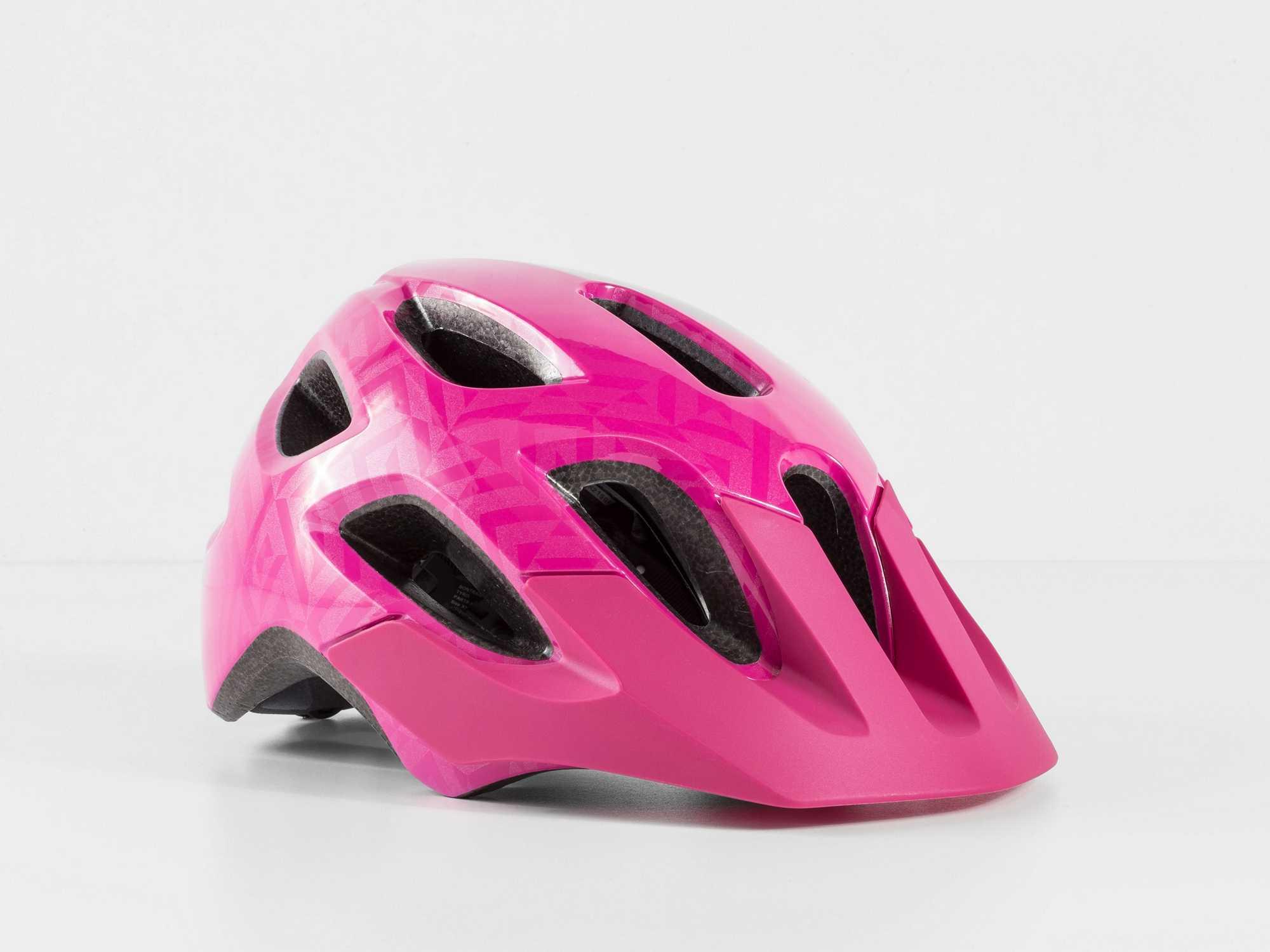Hjälm Bontrager Tyro rosa | Helmets