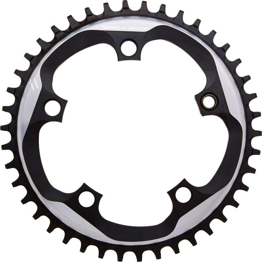 FRONT KLINGE SRAM FORCE CX1 X-SYNC 110 BCD 10/11 GEAR 38T SORT /SILVER | chainrings_component