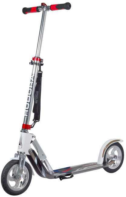 Sparkcykel Hudora Big Wheel Air 205 mm vit/silver