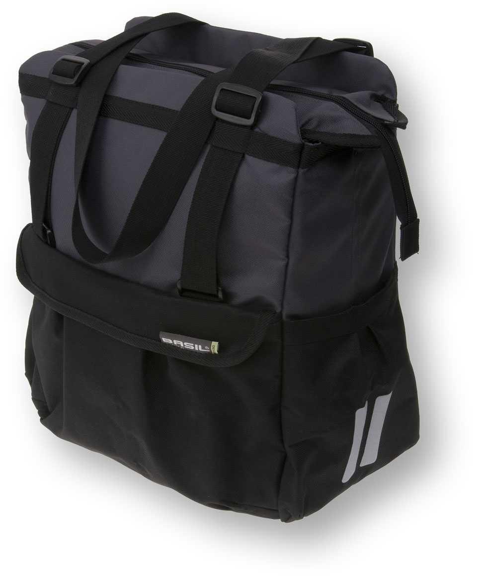 Packväska Basil Shopper XL 20 l svart
