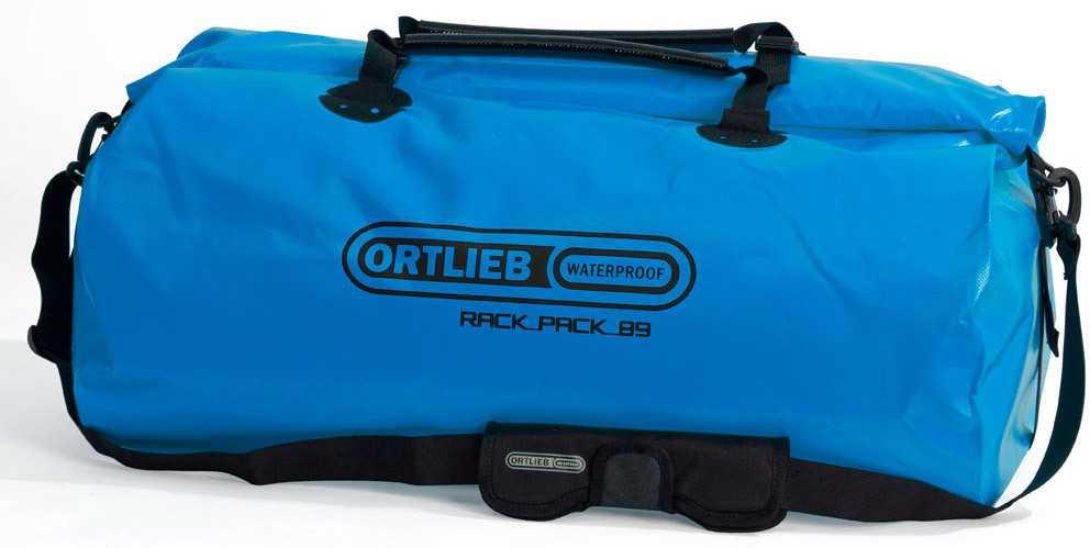 Duffel Ortlieb Rack-pack 89 liter blå