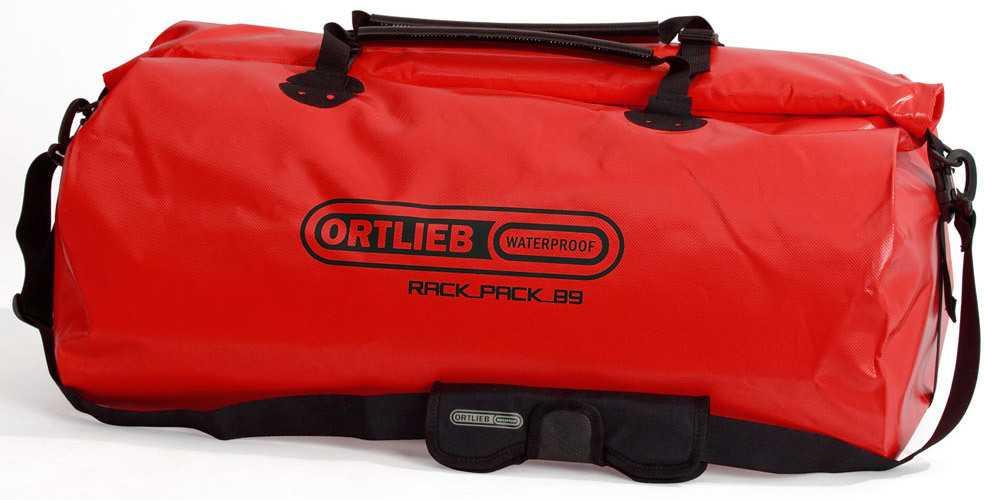 Duffel Ortlieb Rack-pack 89 liter röd