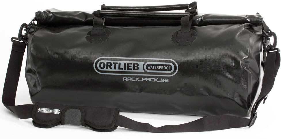 Duffel Ortlieb Rack-pack 49 liter svart