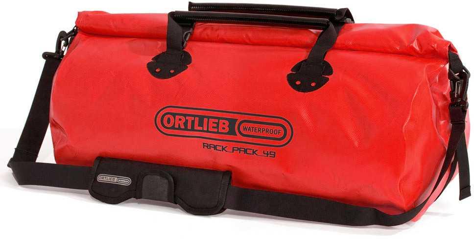 Duffel Ortlieb Rack-pack 49 liter röd