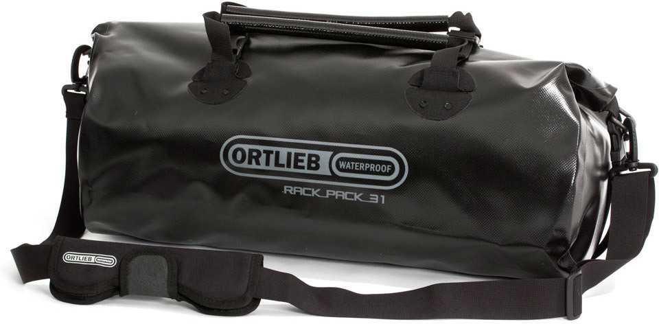 Duffel Ortlieb Rack-pack 31 liter svart
