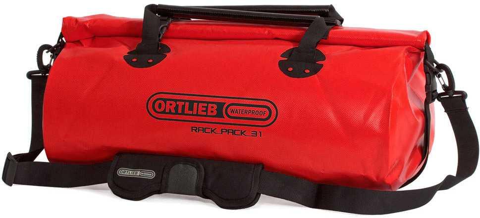 Duffel Ortlieb Rack-pack 31 liter röd
