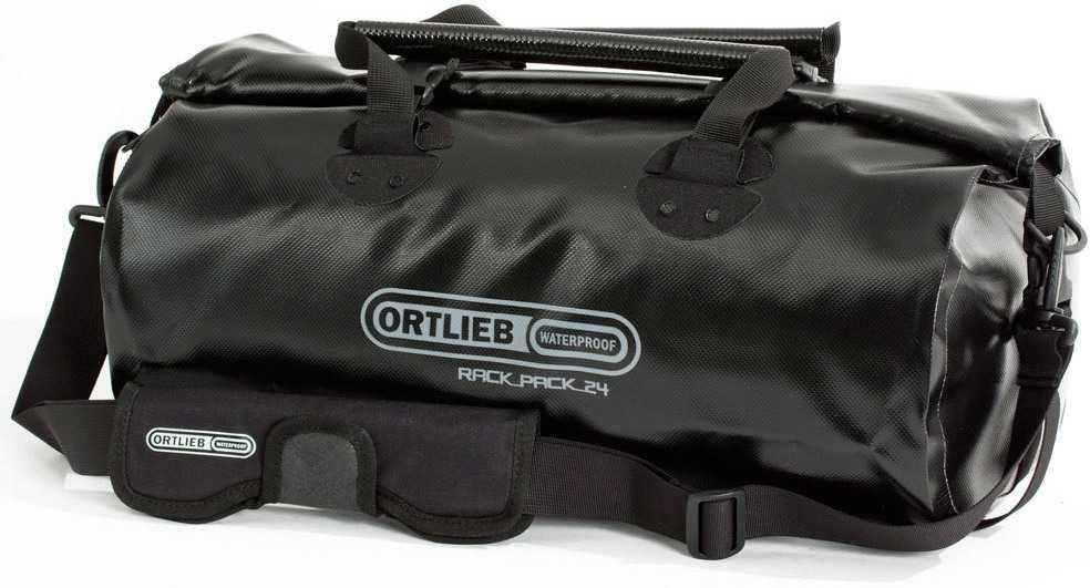 Duffel Ortlieb Rack-pack 24 liter svart
