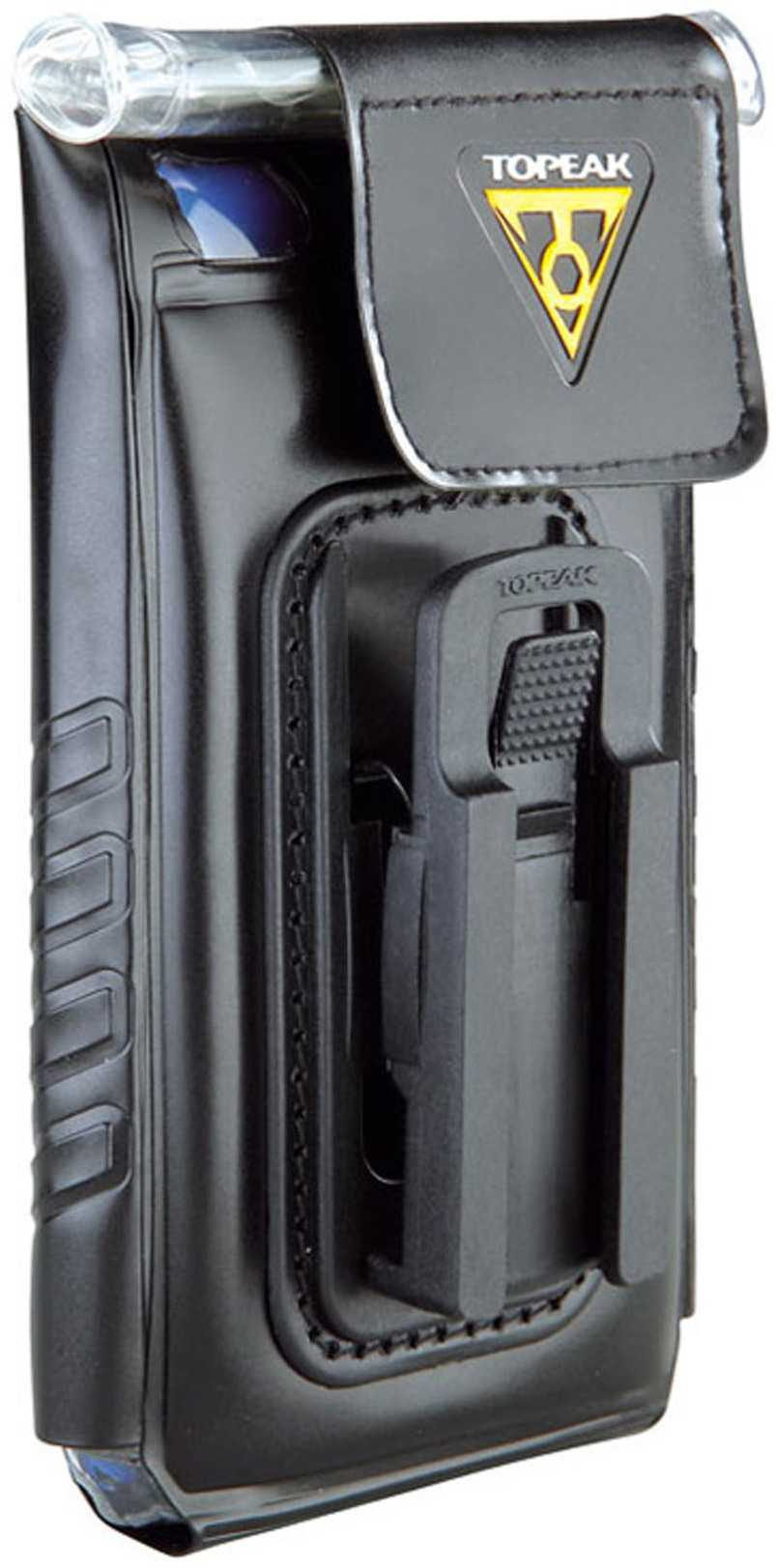 Telefonväska Topeak iPhone 4 vattentät svart