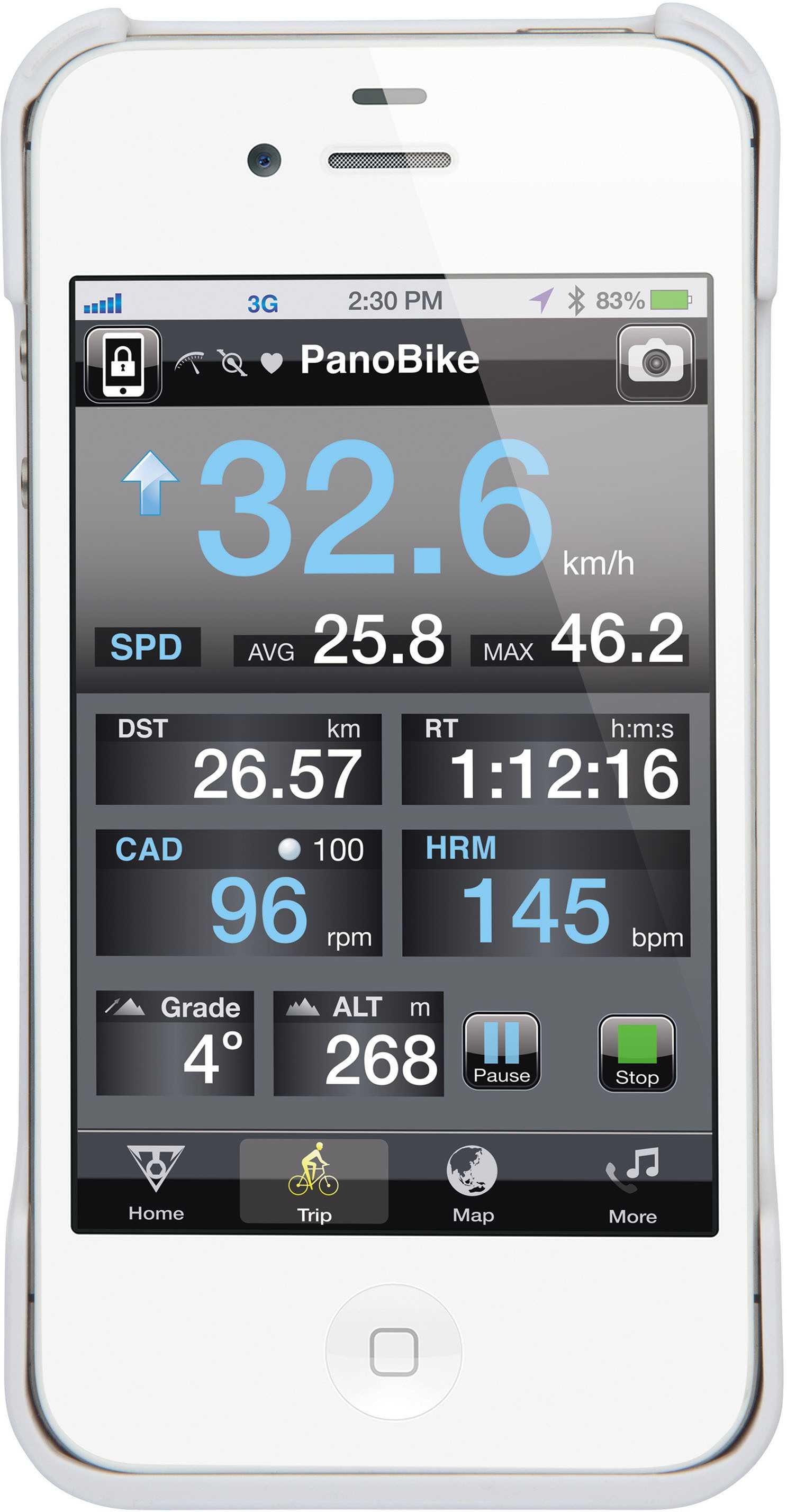 Telefonväska Topeak Ridecase II iPhone 4 vit