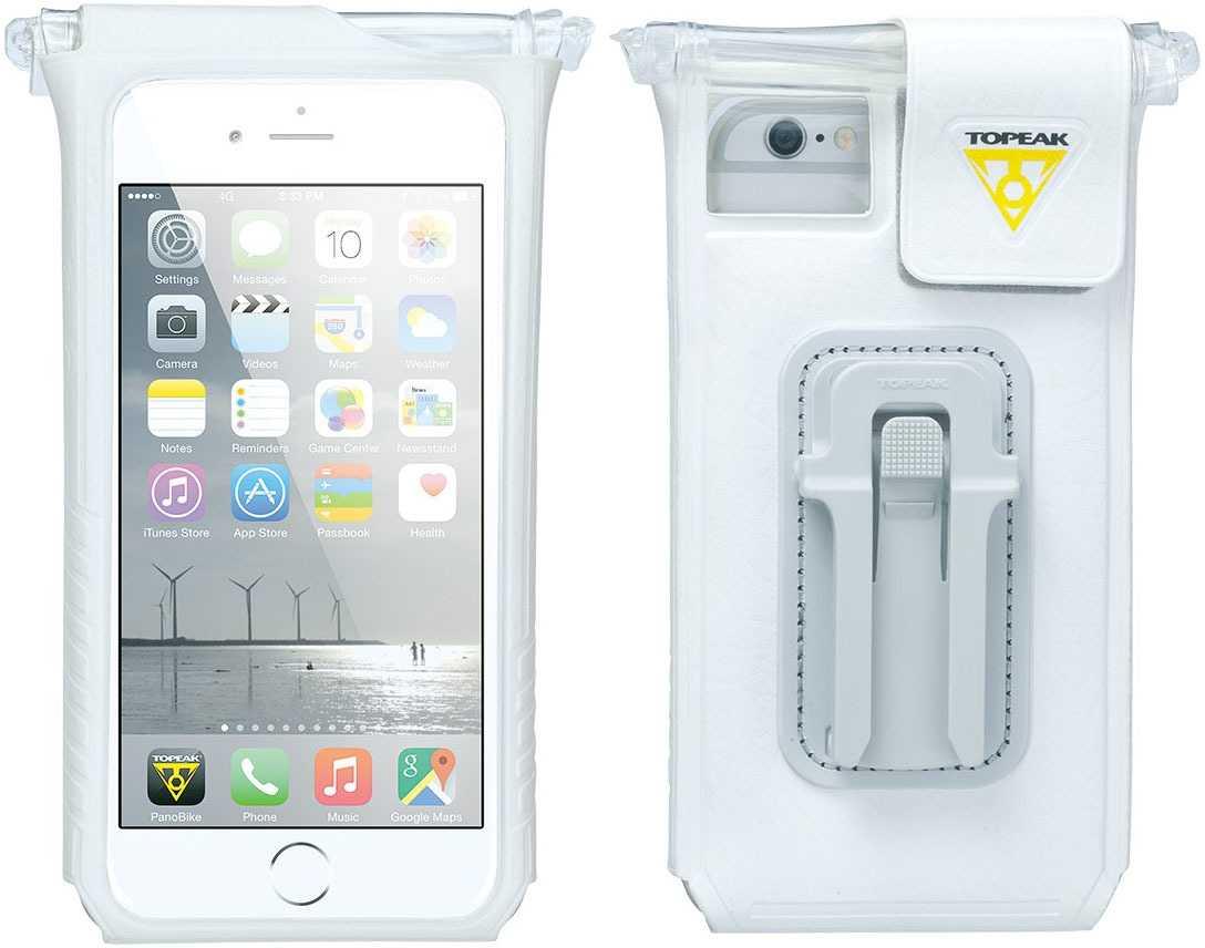 Telefonväska Topeak Smartphone Drybag vit