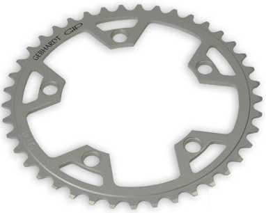 FRONT KLINGE GEBHARDT CLASSIC ROAD YDRE 110 BCD 8/9/10 GEAR 42T SILVER   chainrings_component