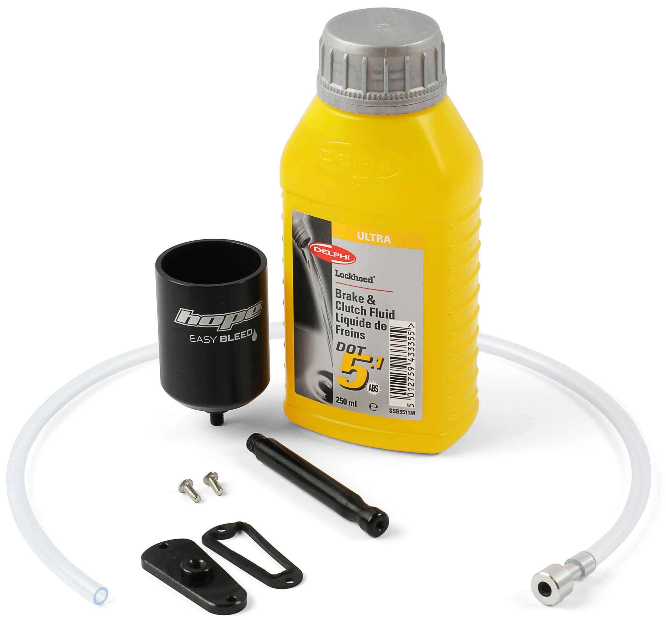 Luftningskit Hope Easy Brake Bleed Kit Tech 3 | Værktøj