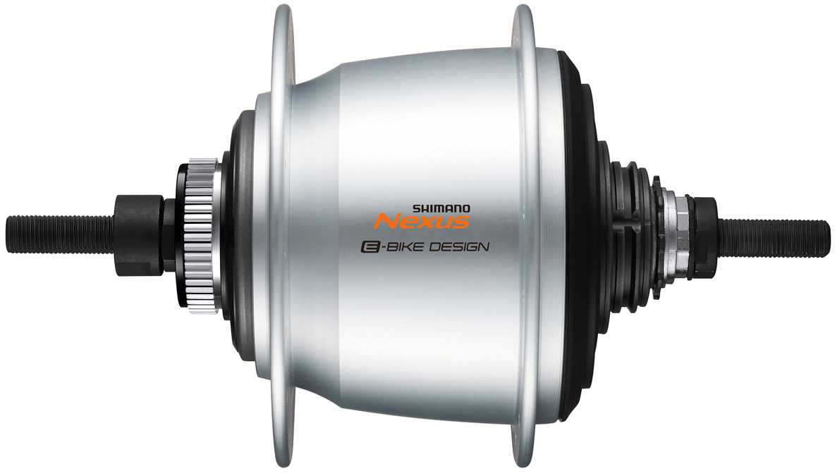 Baknav Shimano Nexus 5 SG-C7000-5D skivbroms CL 32H 135 mm silver