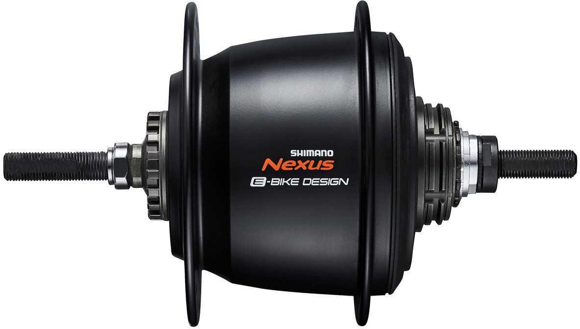 Baknav Shimano Nexus 5 SG-C7000-5R rullbroms 32H 135 mm svart