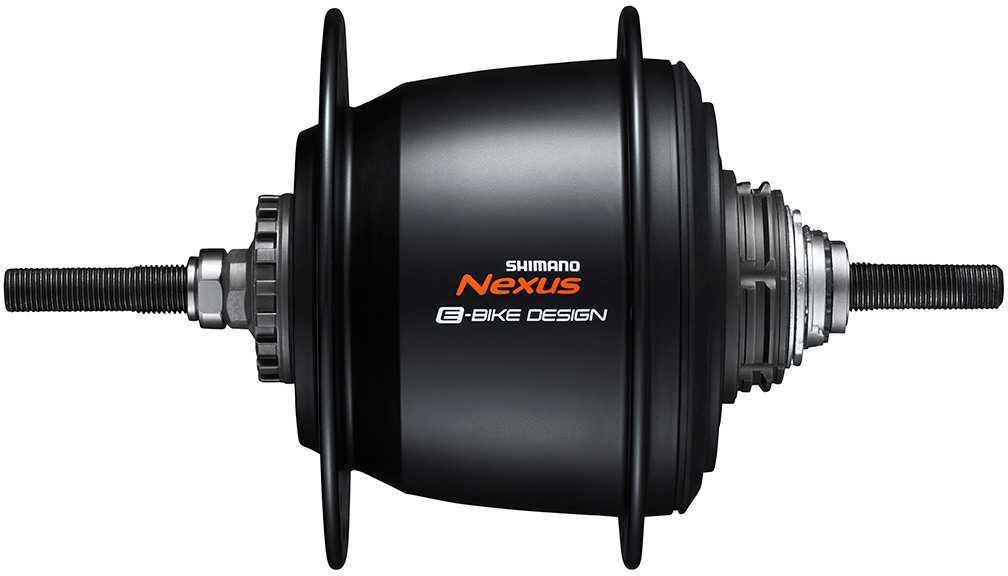 Baknav Shimano Nexus 5 SG-C7050-5R rullbroms 36H 135 mm svart