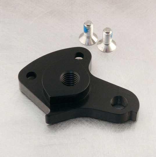 Bakväxelöra Niner 12 mm R.I.P. 9/W.F.O. 9, svart